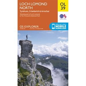 OS OL/Explorer 39 Paper - Loch Lomond North