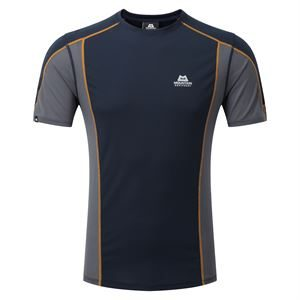 Mountain Equipment Men's Ignis Tee Cosmos/Ombre Blue