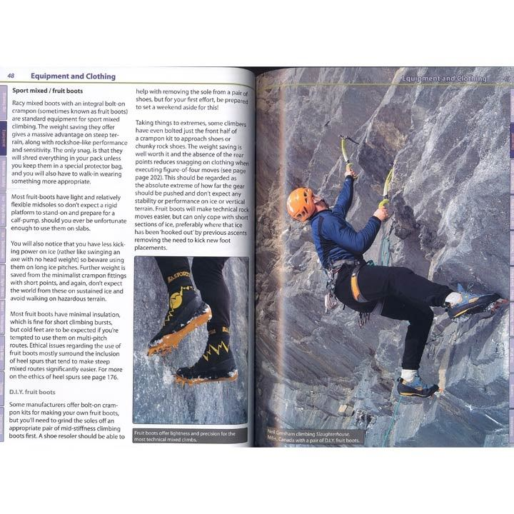 Winter Climbing + pages