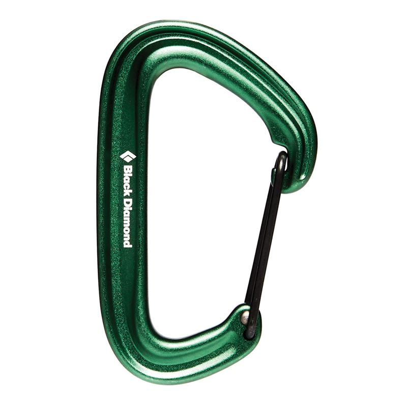 Black Diamond Litewire Karabiner Green