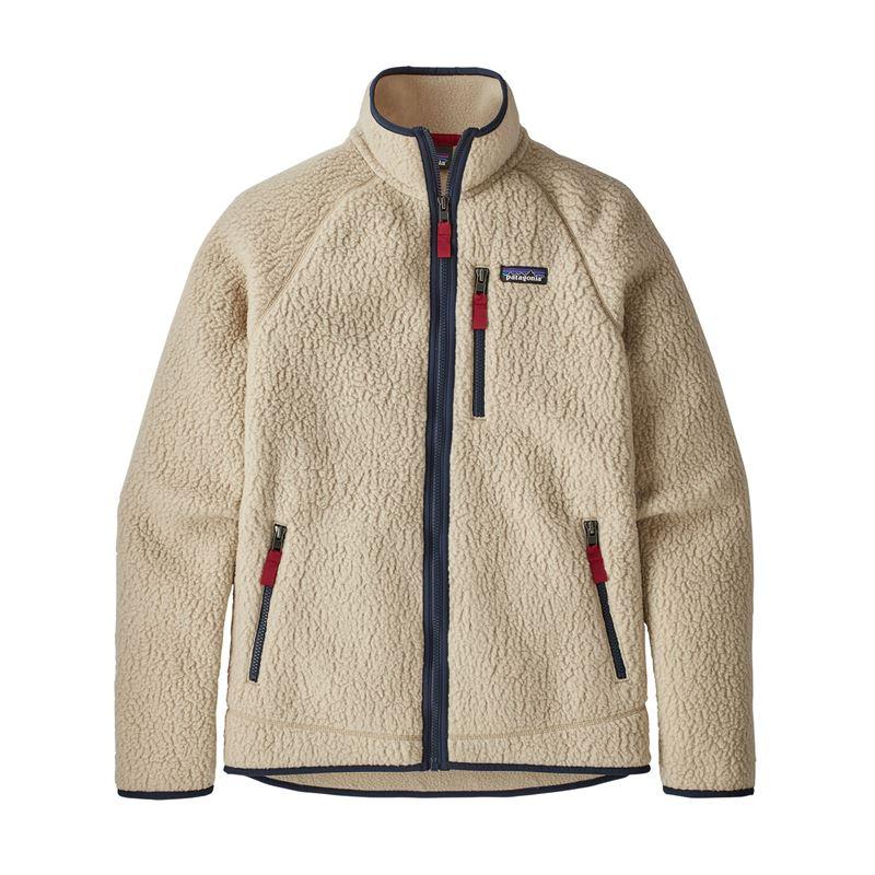 Patagonia Men's Retro Pile Fleece Jacket El Cap Khaki