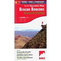BMC Waterproof Mountain Map - Brecon Beacons