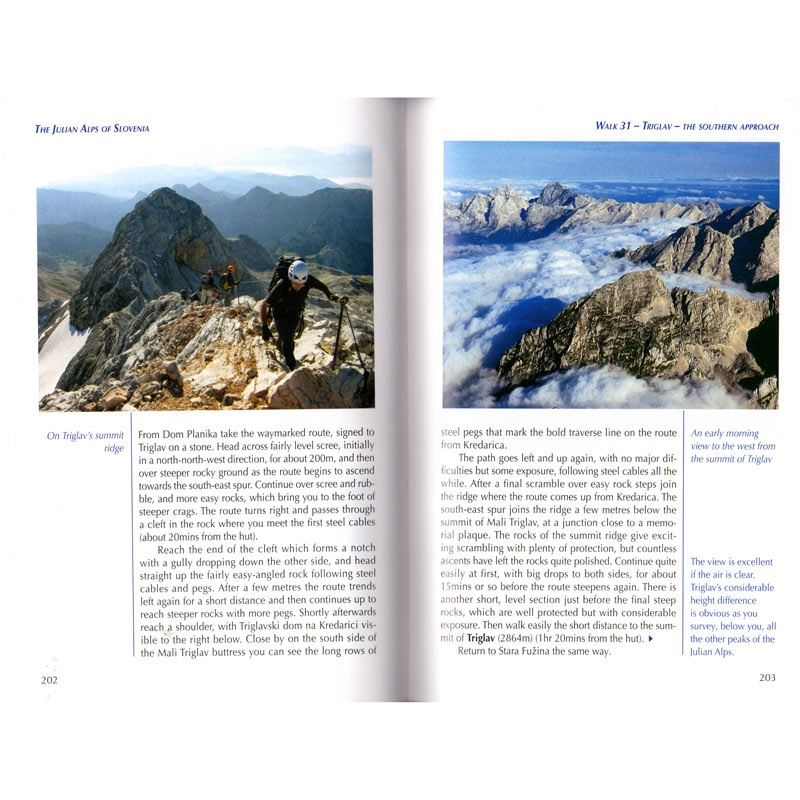 The Julian Alps of Slovenia pages