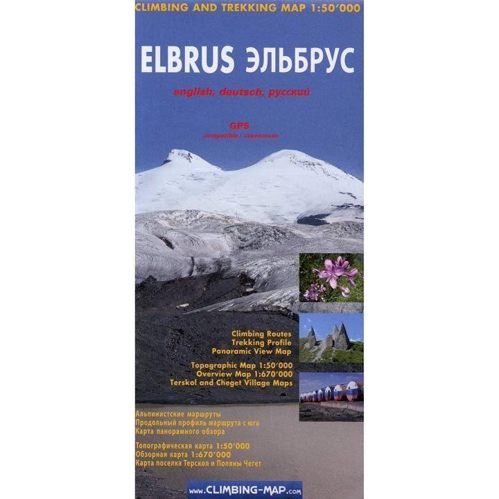 Climbing Map - Elbrus