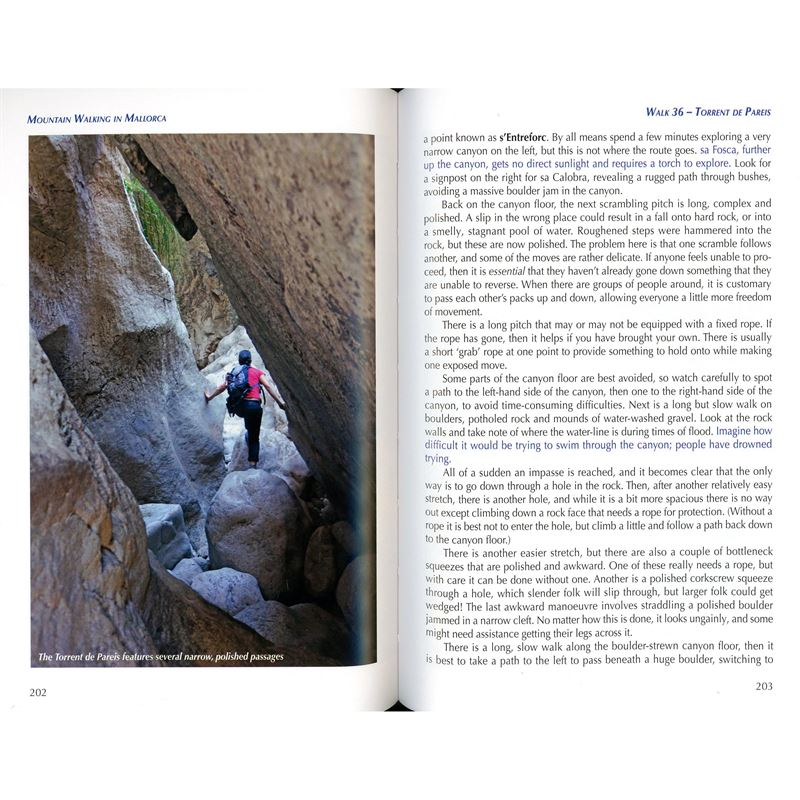 Mountain Walking in Mallorca pages