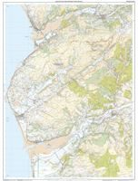 OS OL/Explorer 23 Paper - Cadair Idris & Llyn Tegid west sheet