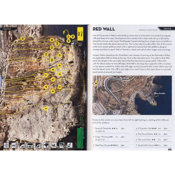 Sport Climbing in Malta and Gozo pages