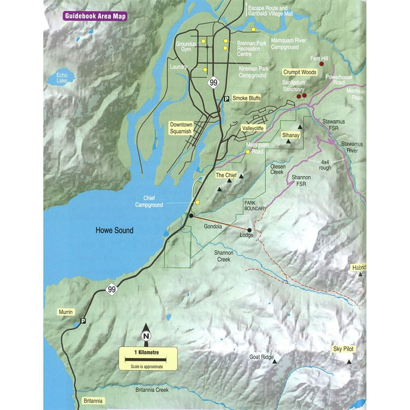 Squamish Rockclimbs coverage