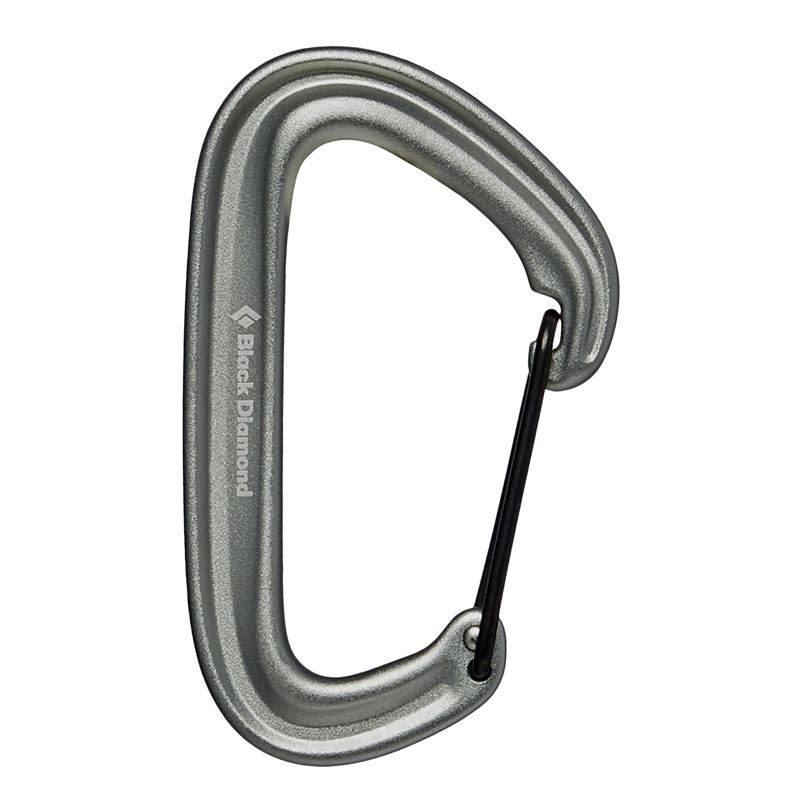 Black Diamond Litewire Karabiner Grey