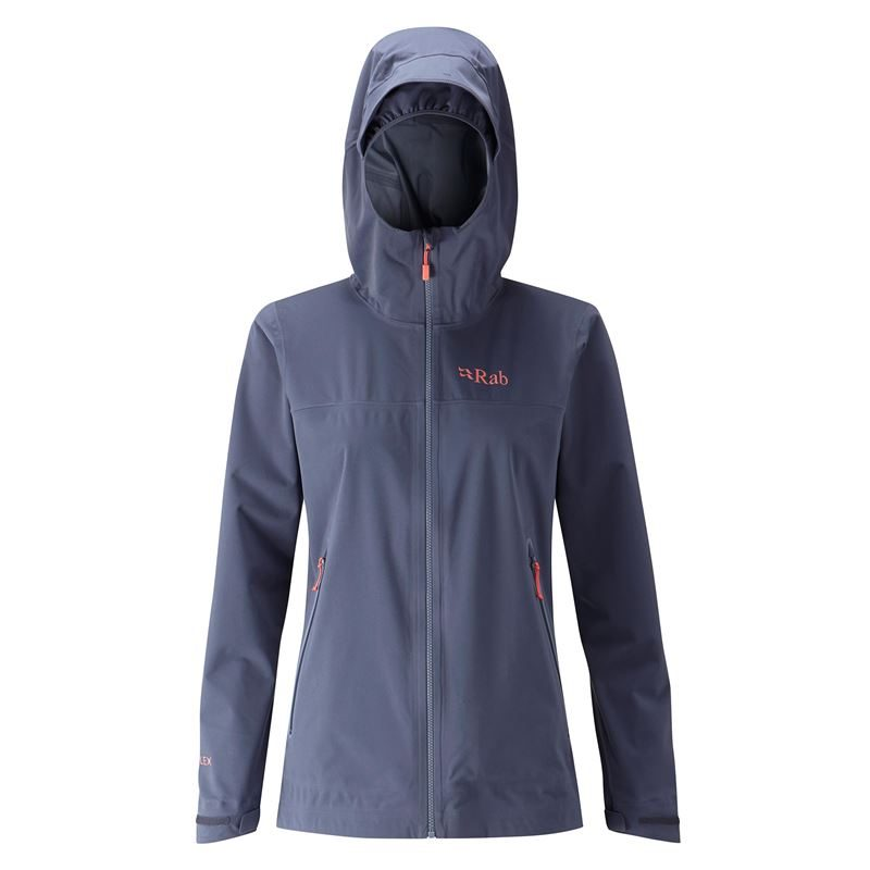 Rab Women's Kinetic Plus Jacket Steel