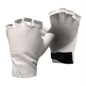 Black Diamond Crack Gloves White