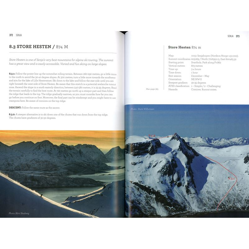 Ski Touring in Troms pages