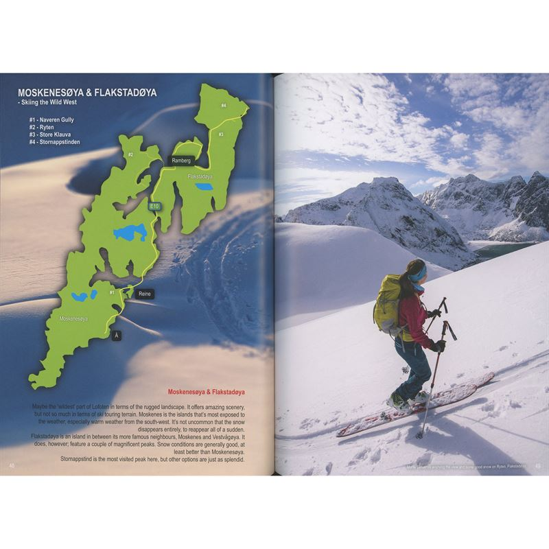 Lofoten - Skiing in the Magic Islands pages
