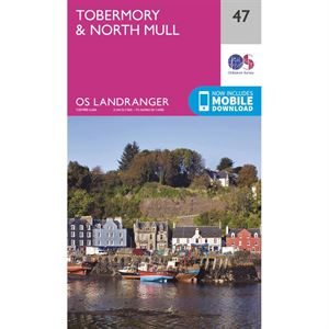 OS Landranger 47 Paper - Tobermory and North Mull