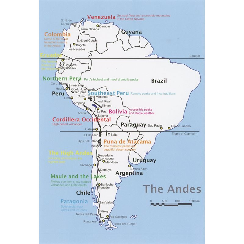 The Andes coverage