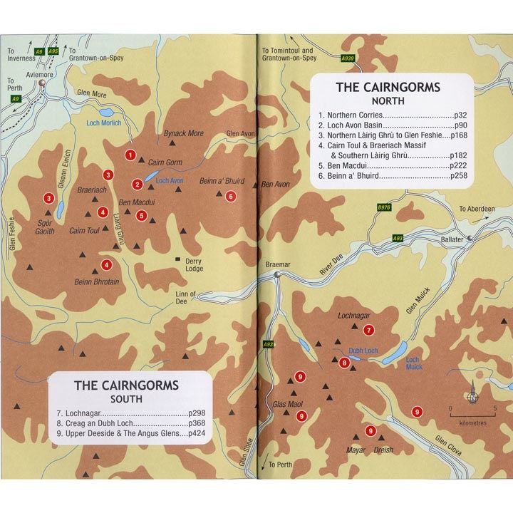 The Cairngorms coverage