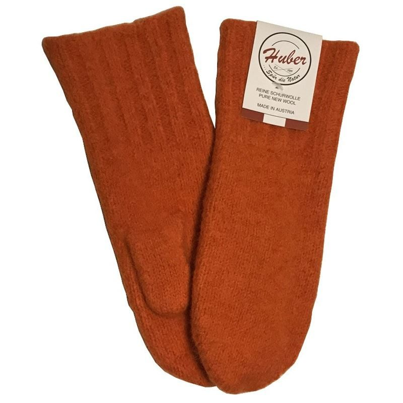 Huber Dachstein Mitts Orange
