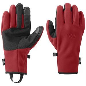 Outdoor Research Men's Gripper Sensor Gloves Tomato
