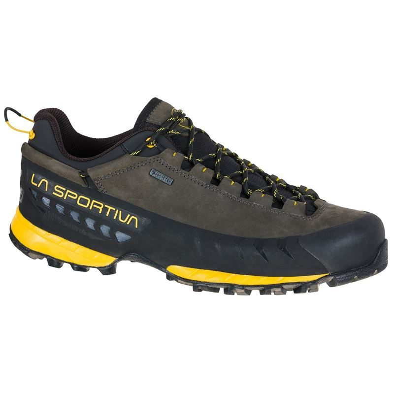 La Sportiva Men's TX5 Low GTX Carbon/Yellow