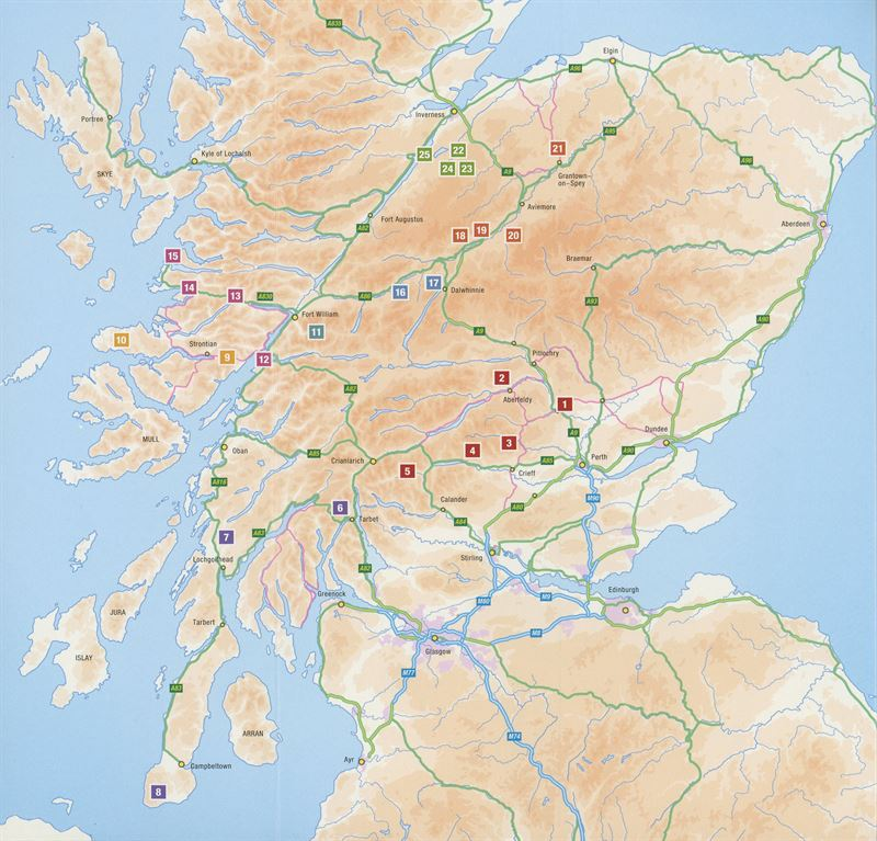 Highland Outcrops South coverage