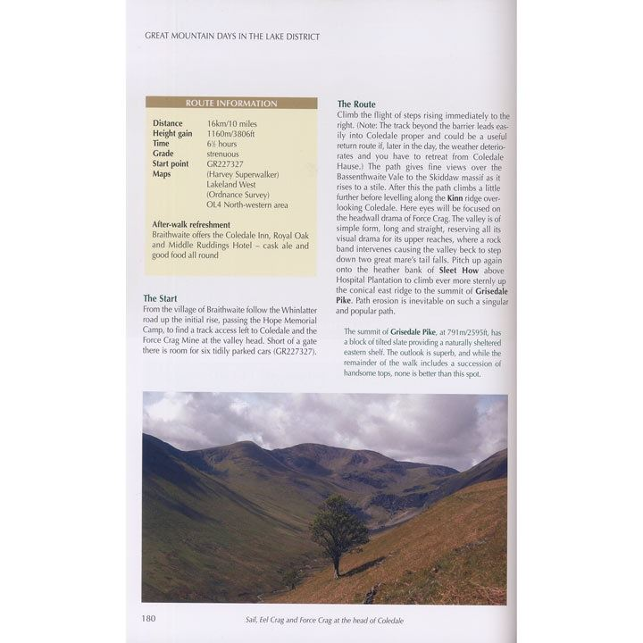 Great Mountain Days in the Lake District page