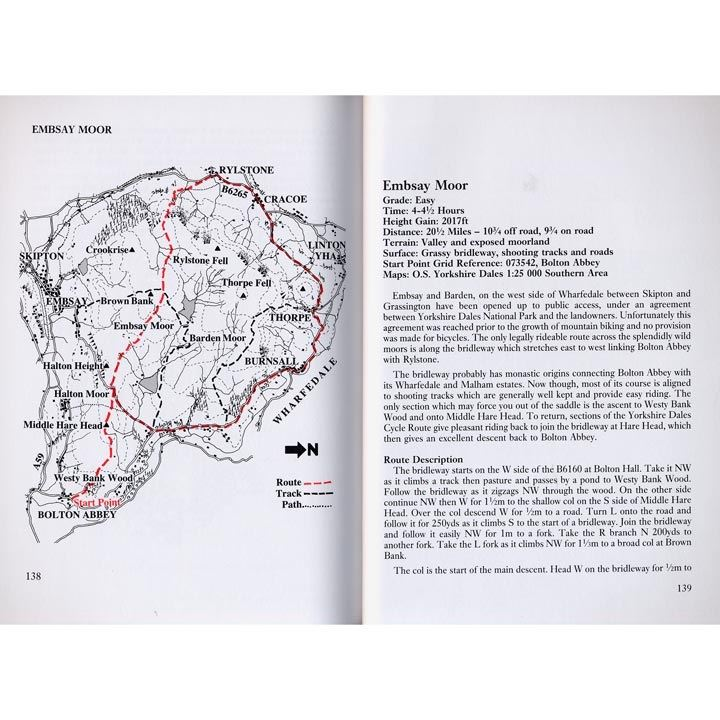 Mountain Bike Guide - More Routes Lake District, Howgills, Yorkshire pages