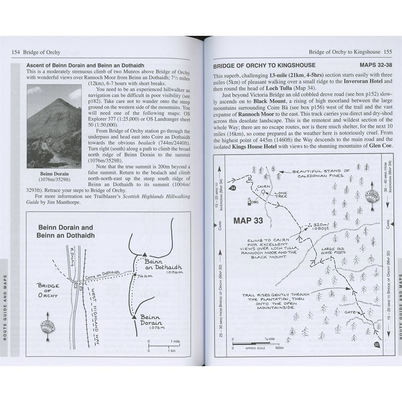 West Highland Way pages