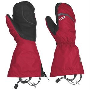 Outdoor Research Men's Alti Mitt Red