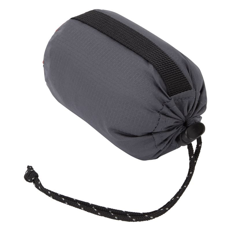 Mountain Equipment Aerostat Pillow Ombre Blue Packed