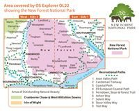 OS OL22 New Forest coverage
