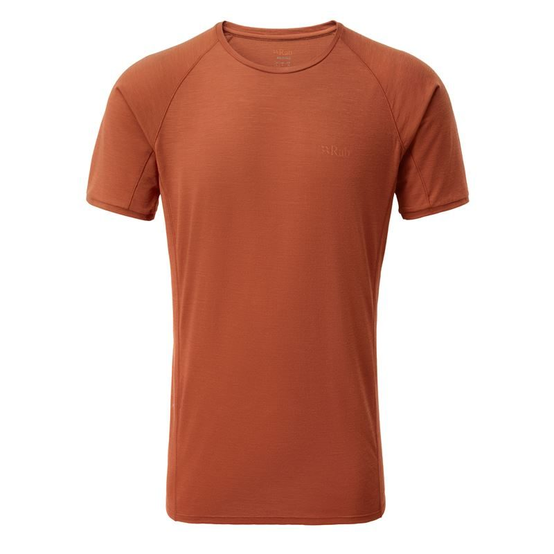 Rab Men's Forge SS Tee Red Clay
