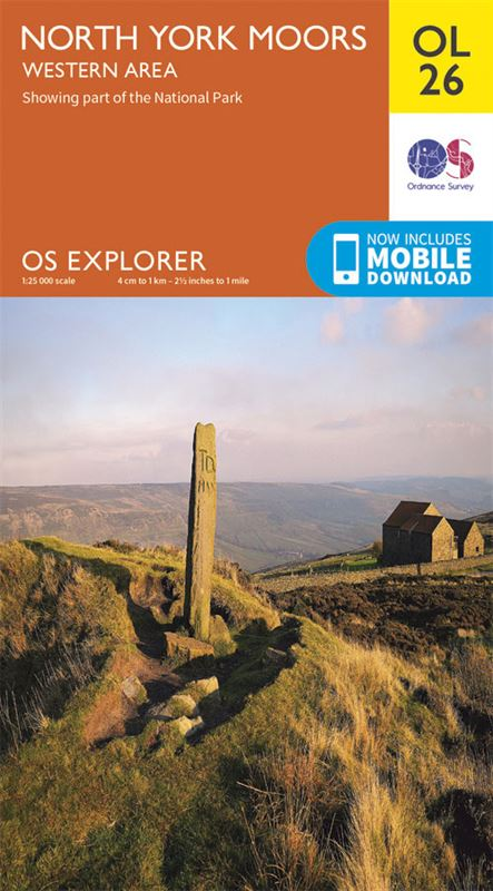 OS OL26 North York Moors - Western Area