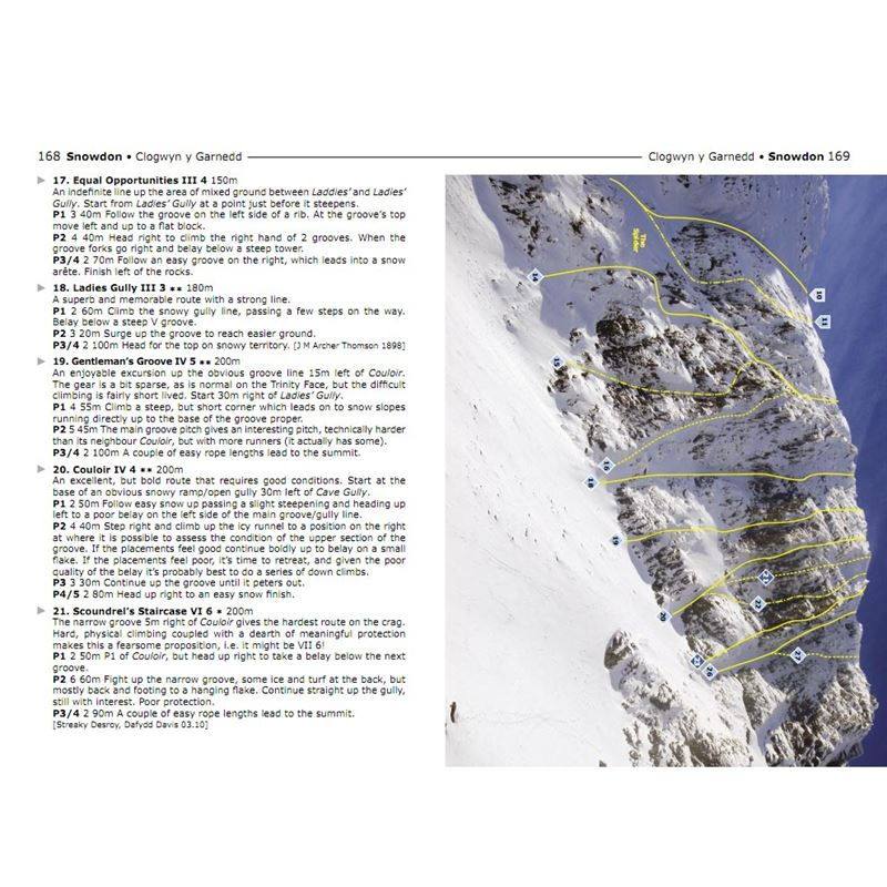 North Wales Winter Climbing pages