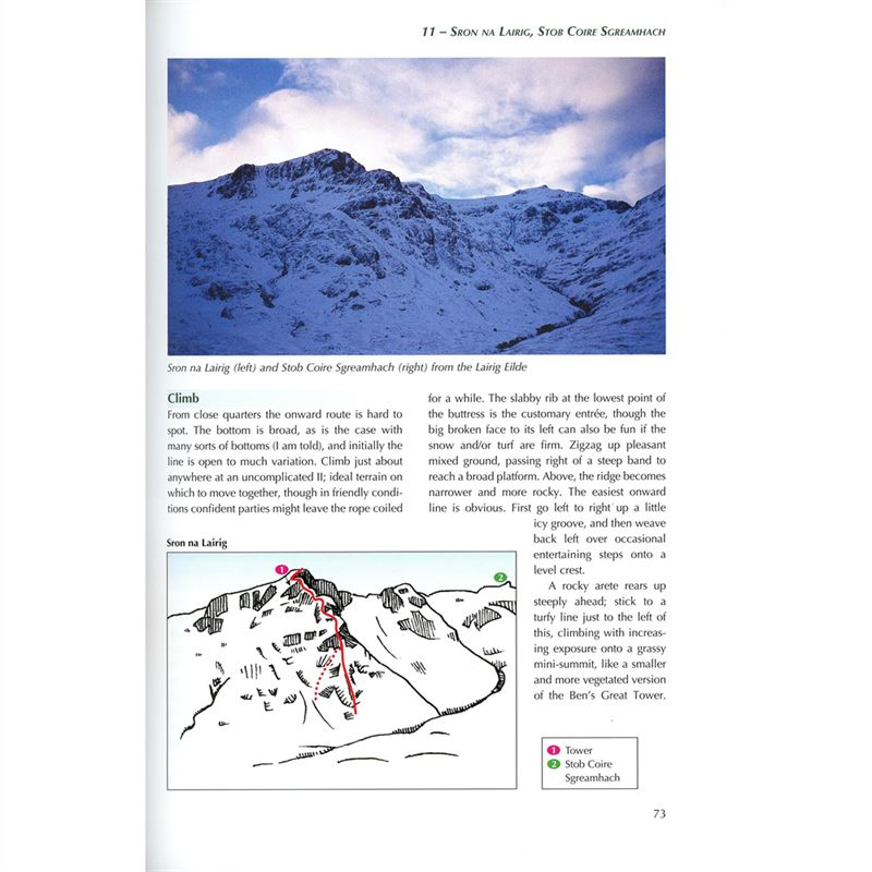 Scotland's Mountain Ridges page