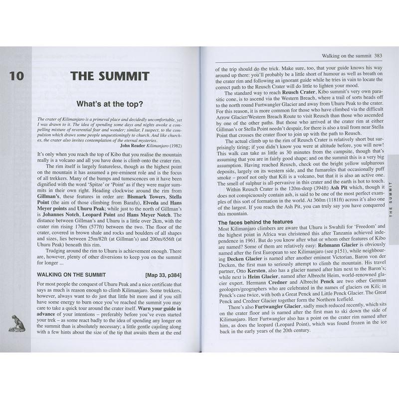 Kilimanjaro pages