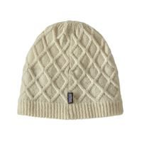 Patagonia Women's Honeycomb Beanie Birch White