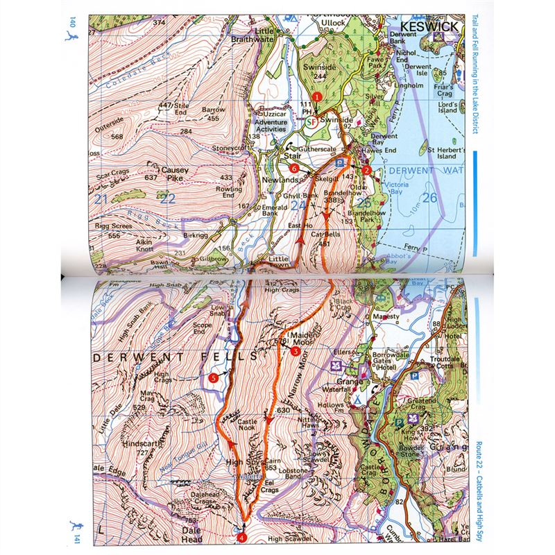 Trail and Fell Running in the Lake District pages