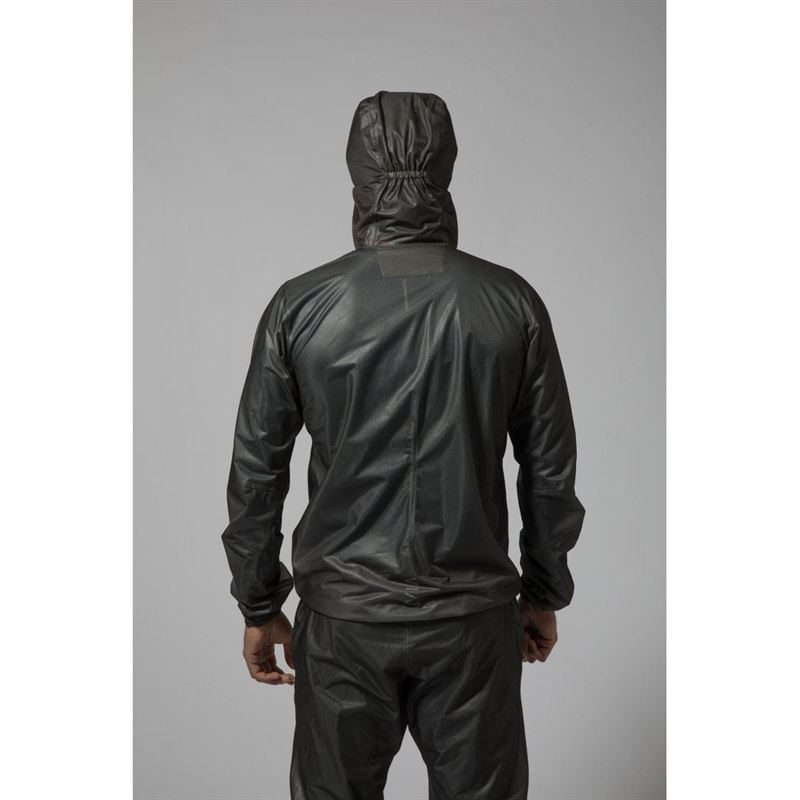 Montane Unisex Podium Pull-On Charcoal in use