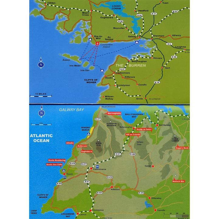 Climbs in the Burren and Aran Islands coverage