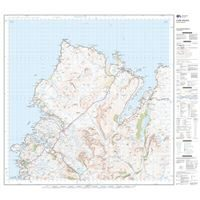 OS Landranger 9 Paper - Cape Wrath 1:50,000 sheet