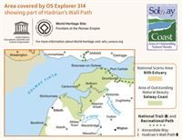 OS Explorer 314 Solway Firth coverage