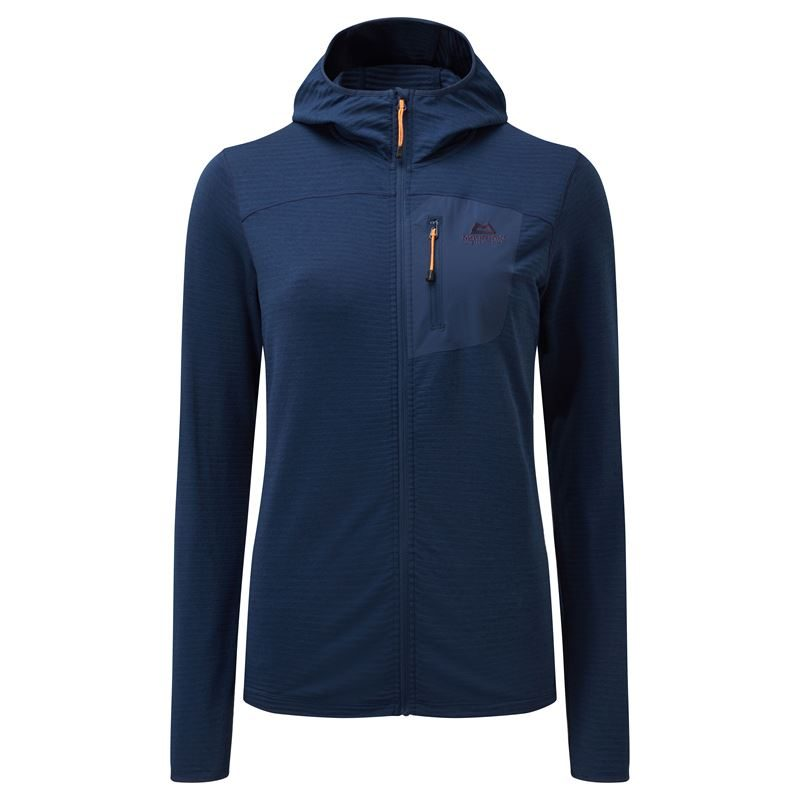 Mountain Equipment Women's Lumiko Hooded Jacket Medieval Blue