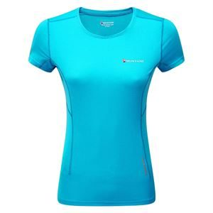 Montane Women's Claw T-Shirt Cerulean Blue