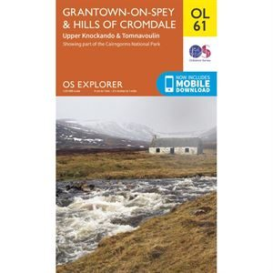 OS OL/Explorer 61 Paper - Grantown-on-Spey & Hills of Cromdale
