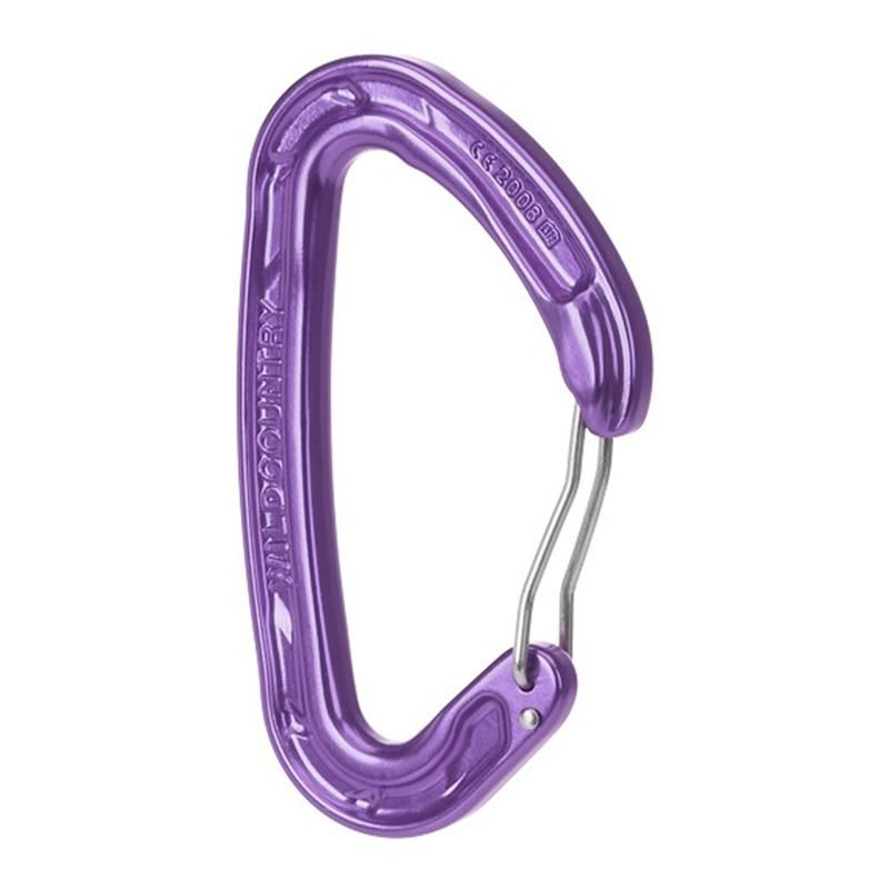 Wild Country Helium 3 Karabiner Purple
