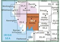 OS OL7 The English Lakes South-Eastern Area Active adjacent