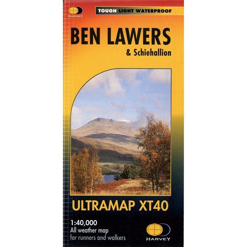 Harvey Ultramap XT40 - Ben Lawers