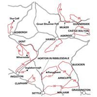 Mountain Bike Guide - The Lake District, the Howgills and Yorkshire coverage