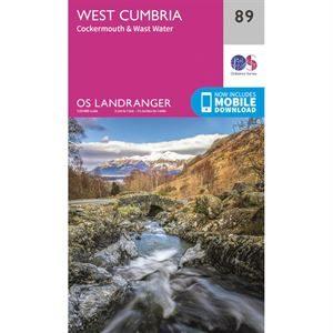 OS Landranger 89 West Cumbria