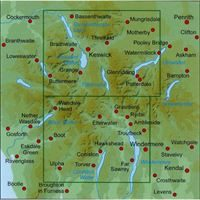 AA/OS Central Lake District 1:25000 coverage